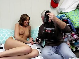 European gf cheating on her cuckold lover