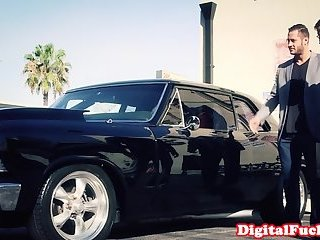 Fantasy spy wife cockriding after doggystyle