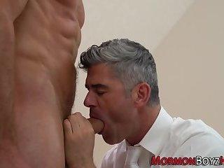 Muscly mormons bareback
