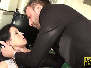 Real bdsm whore assfucked