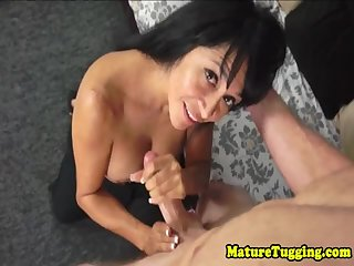 Stepmom dick her tugs spex tits bj with after words