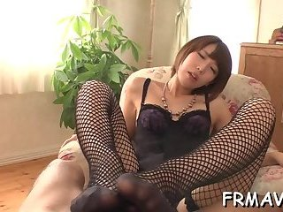 Horny Japanese needs a cock