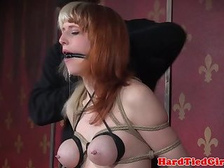 Busty sub NT punished and humiliated