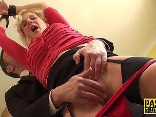 Bdsm fetish slut plowed