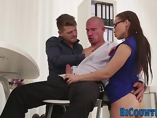Ass banged bisexual dude