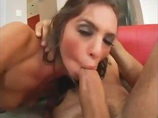 Big Ass And Boobs Woman Fucks Two Guys