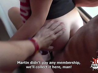 Hot pornstar public sex and cumshot