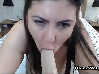 Losing Control Of My Body With Monster Dildo