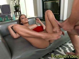 Latinas jizzy feet adored