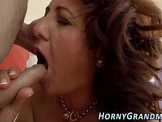 Busty stepmilf fucking in forbidden threeway 1