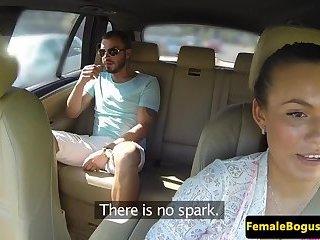 Seductive euro cabbie plowed by stranger