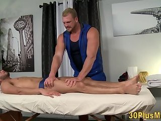 Cock sucking gay masseur