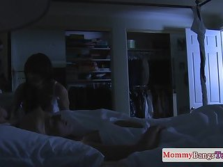 Bigtit milf dickrides before teen gets banged
