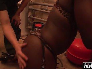 Big dicks surprise a black girl