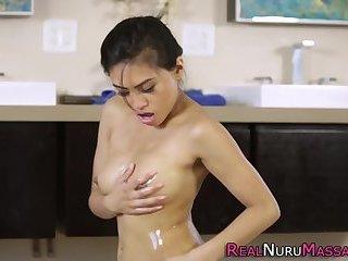 Asian masseuse nailed
