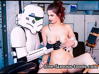 Star Wars hentai parody sex