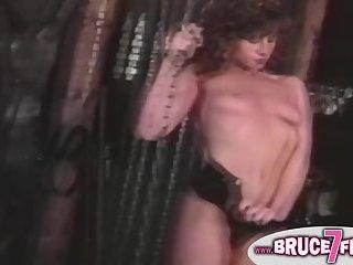 Restrained vintage lesbo