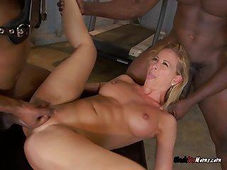 Mature Slut Cheri Deville Gets Her Pussy Ruined