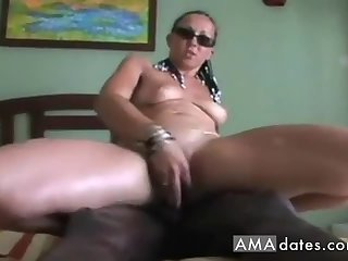 Aggressive French girl with BBC toy