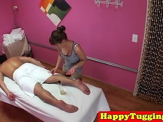 Young asian girl caught riding on spycam