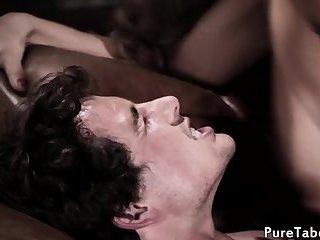MILF cougar seduces horny stepson