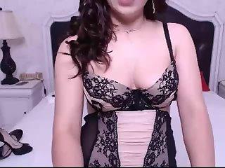 Beautiful Hot Seductive Shemale Masturbating Hard