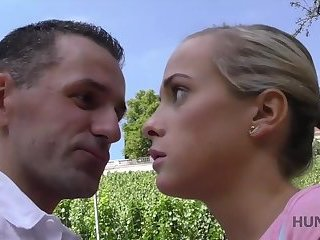 HUNT4K. Chick Denisse sold her pussy to guy without BF's agreement