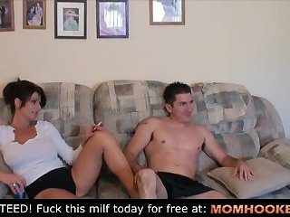 Accidental blowjob with mom!!!