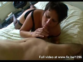 French BBW Sabrina takes anal