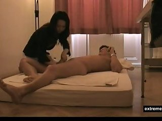 My mother gives a Japanese massage