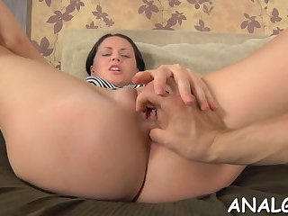 Magnetizing anal doggystyle