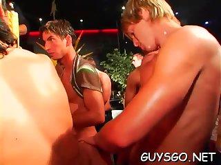 Young gay having some fun