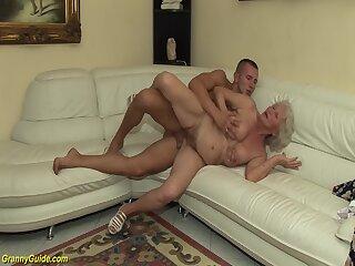 Screenshot video 75 years old grandma first porn video