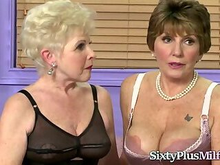 Two Grannies Make Out