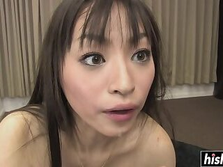 Asian chick needs more than one dick