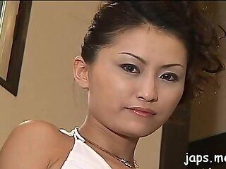 Angelic nipponese girl gets fucked thoroughly