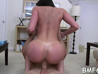 Mouthwatering Kendra Lust fucked by monster slim jim