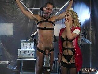 BDSM with MILF nurse