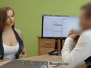 LOAN4K. Girl crashed husband's car so why sells pussy for a credit