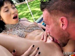 Asian Stunner Fucked