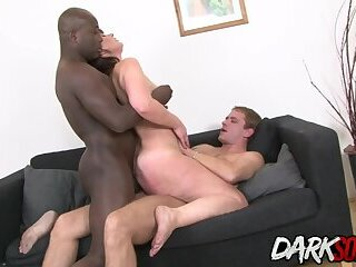 Two Big Cocks Double Team Mature Vera Delight and Ruin Her Asshole