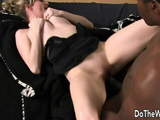 Cock Hungry Wife Lya Pink Facialized by BBC in Front of Cuckold Husband