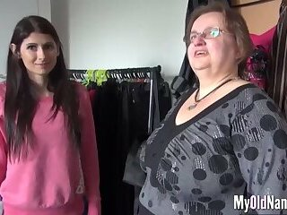 Curvy Granny Loves Cock