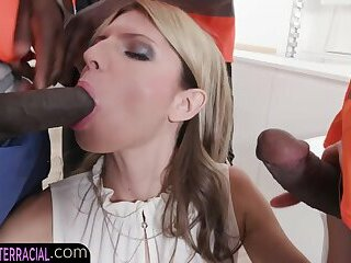 Cock hungry blonde eurobabe gets dpd