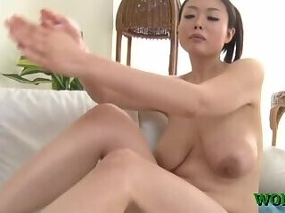 Asian chick fucked in the office