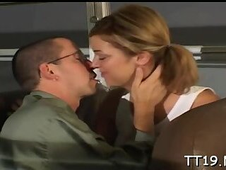 Delectable Jessie Stevens gets a hard ride