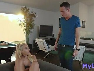 Swingeing blonde perfection Carmen Caliente gets extra wet