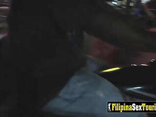 Asian HOOKER picked up and FUCKED by VISITOR