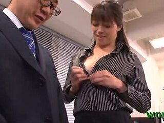 Japanese fucked at work