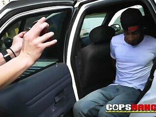RANDY TATTOOED ebony thug impaling BLONDE CFNM HARDCORE